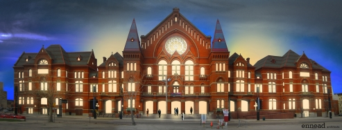 "Music Hall is slated to have its windows ""unbricked"" so it loses the fortress-like exterior"
