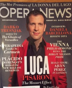 The November issue of Opera News mentions about two dozen CCM grads