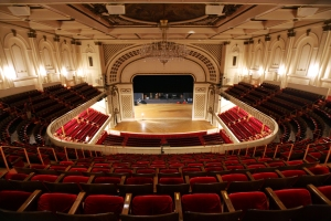 Music Hall's Springer Auditorium will look quite different when it reopens after a $130 million renovation. Photo from Enquirer files
