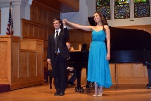 Soprano Nadine Sierra and Bryan Wagorn, pianist