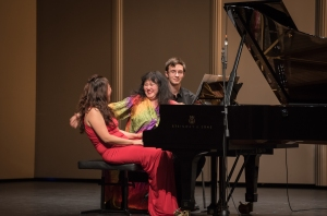 Sheer fun: Samuel Barber's Souvenirs, with pianists Wu Han and Wu Qian. Photo provided