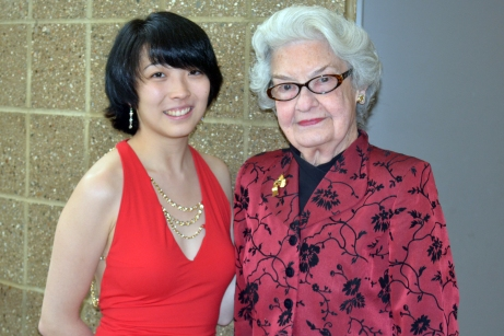 Nancy Walker with ClaireHuangci__ 2015