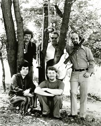 CSO Jazz Quintet 1970 informal small
